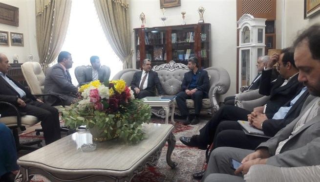 The meeting of expedition of Iran University of Me