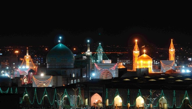 Imam-Reza Shrine at the Heart of Mashhad